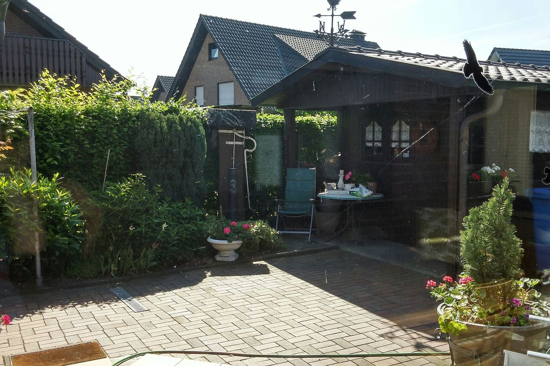 Terrace/ Garden shed