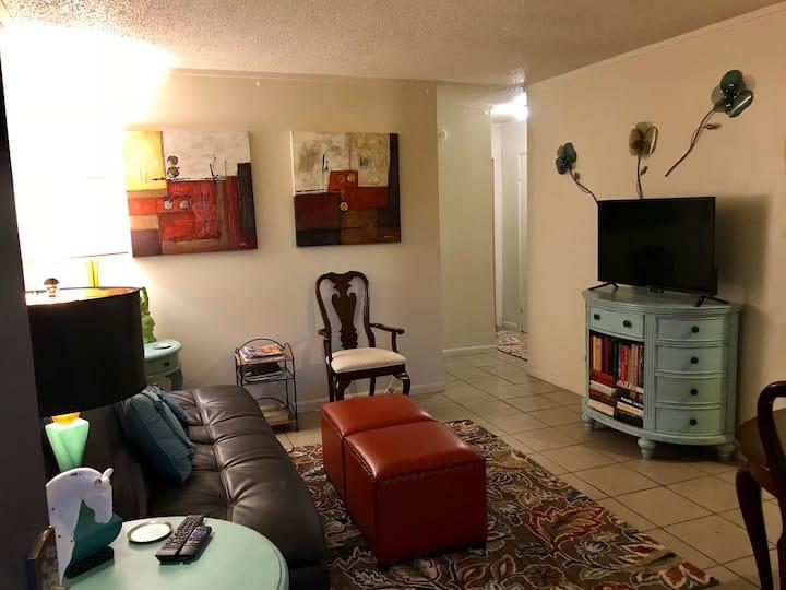 Tulsa University Area Apartment #2 Downstairs