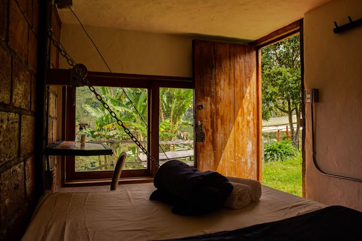 Riverside Jericó! Private studio by the mountain