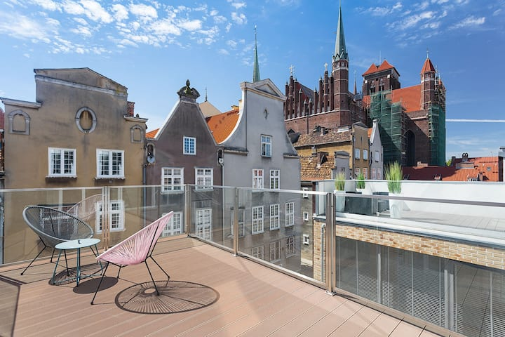 Goodnight Gdansk Apartment with terrace