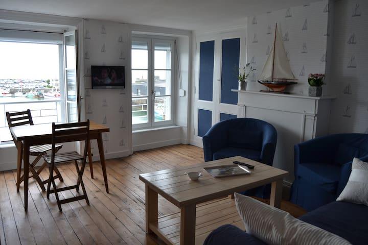 appartement avec vue exeptionnelle sur le port 4 - Granville - อพาร์ทเมนท์
