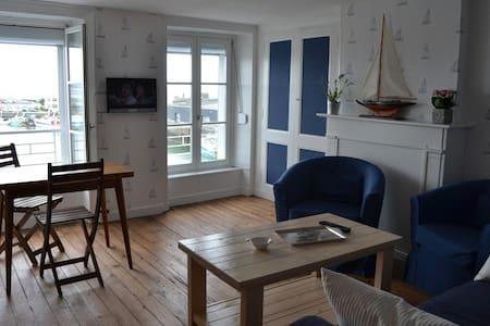 appartement avec vue exeptionnelle sur le port 4 - Гранвиль