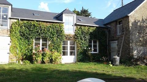 Charmant logement indépendant avec jardin au calme