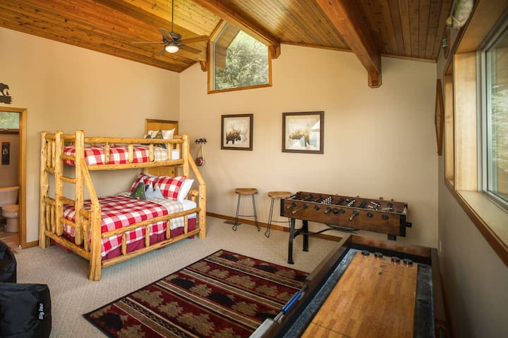 Locally Made Log Bunk Beds (Twin & Full)