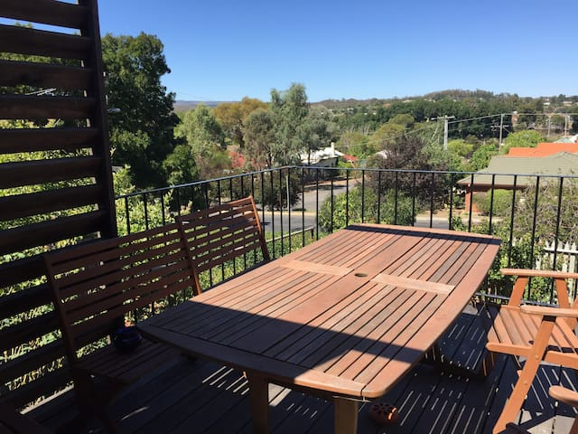 Comfortable home with a lovely view - Castlemaine - Dom