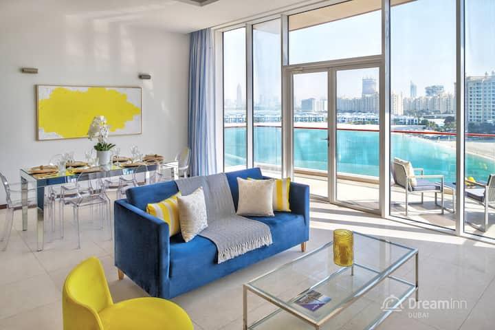 Stylish 3-Bedroom Apartment Palm Jumeriah