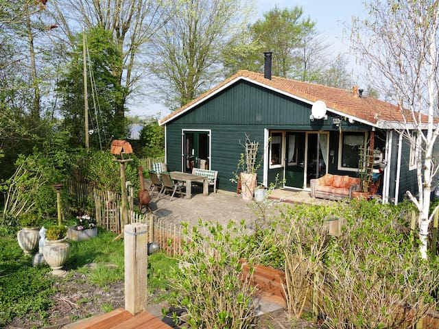 The lakeside house - vacation in Noord-Holland