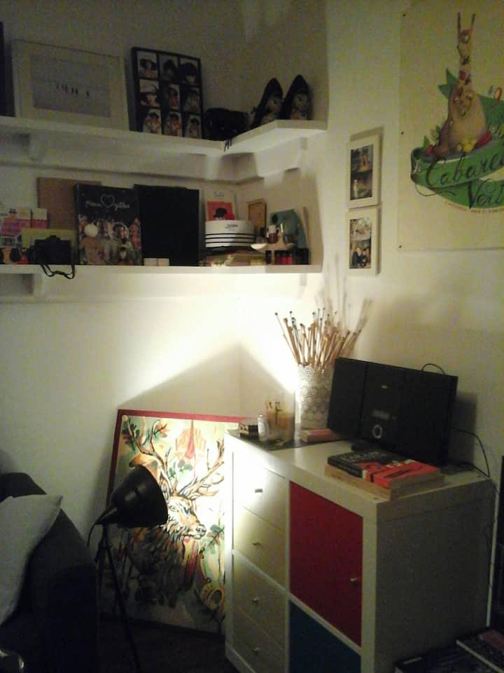 Appartement charmant et lumineux