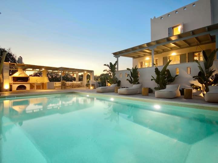 Seaside Naxos • Villa Ariadne with Pool @ Plaka ⛱️