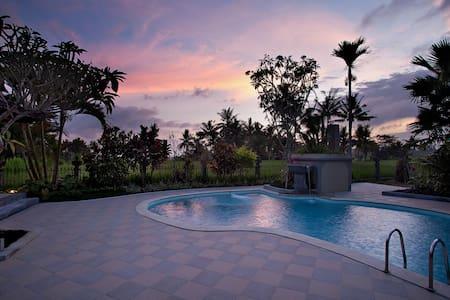 two bedroom private villa accommodation in Ubud - Ubud - Villa