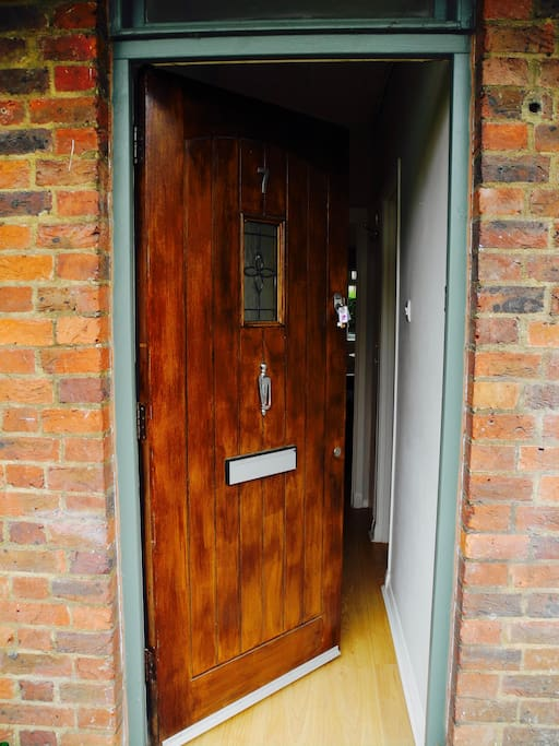 Front door - Hallway