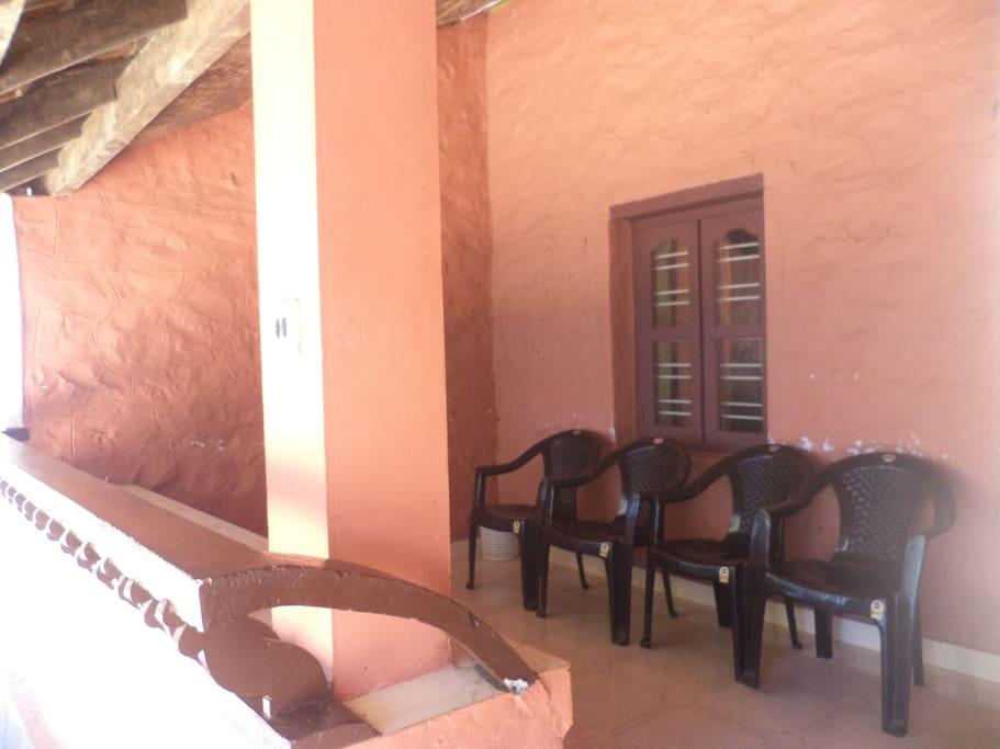 The Room balcony