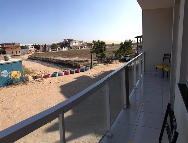 Apartamento vista Jeri dunas