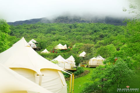 Waterfall Deluxe Luxury Tent III(The Lotus Resort)