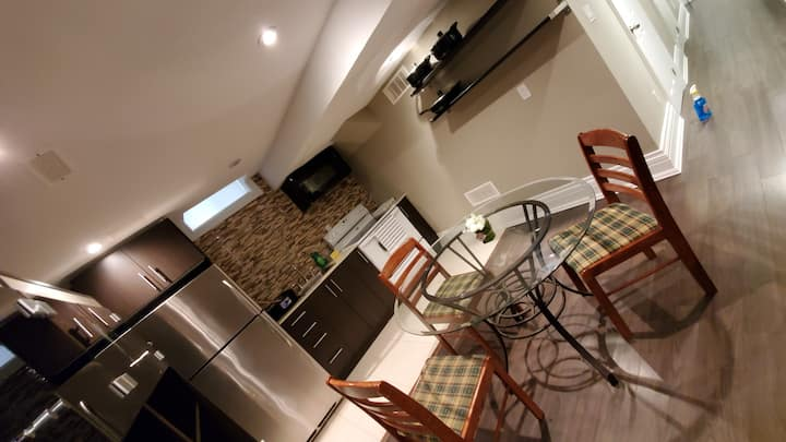 FURNISHED FULL BASEMENT APARTMENT ON AIRPORT RD