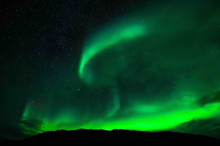 Northern lights at your doorstep..