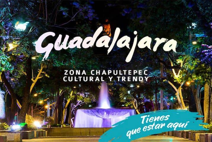 Hospedate en el lugar mejor ubicado en Guadalajara!