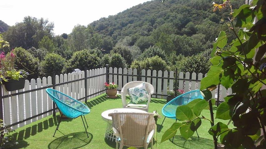 Maison Presqu'île Ambialet, vallée Tarn, 30mn Albi