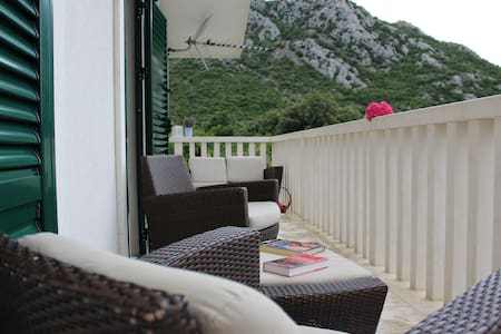Blossom apartment with amazing view ( Peljesac )