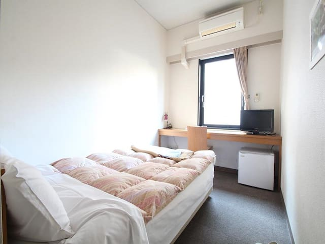 6mins->Ikebukuro Sta/Single Room+Breakfast