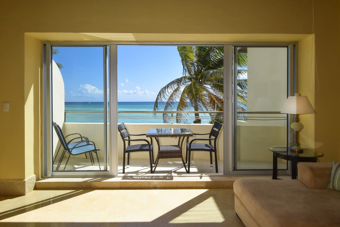 Private balcony to enjoy  beautiful sunsets!