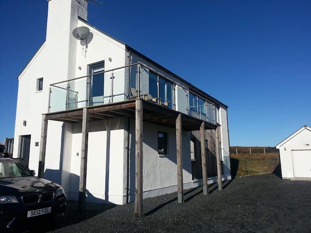 Ross House, Badachro, Gairloch (What a Sea View!)