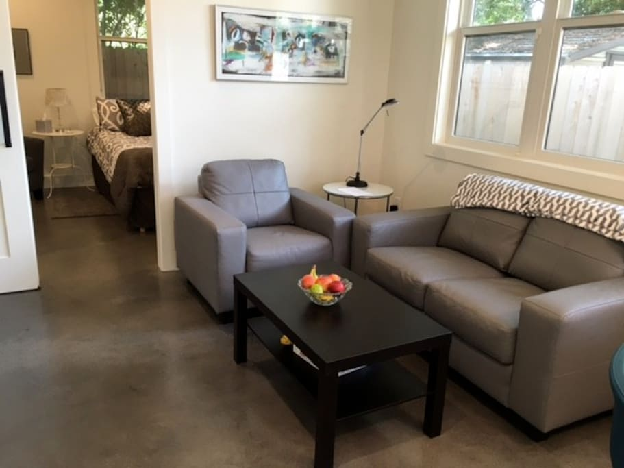 Our guests love the clean lines and open space.