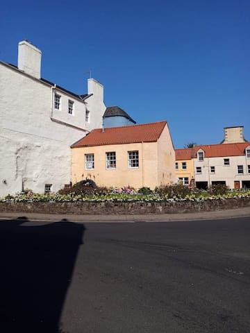 newly renovated listed flat in Haddington