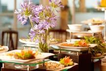 Buffet breakfast restaurant