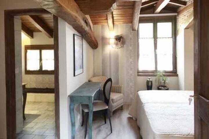 Habitación Familiar en Caserío con encanto