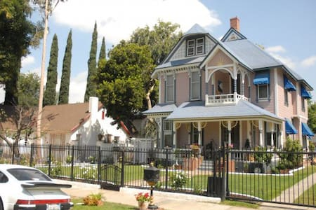 Victorian - travel back in time - Riverside - Casa