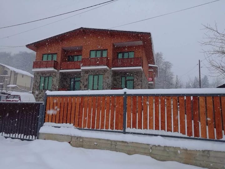 New Cottage In Snowy Bakuriani