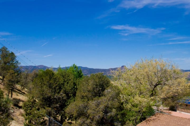 Panoramic views on Prescott and beyond