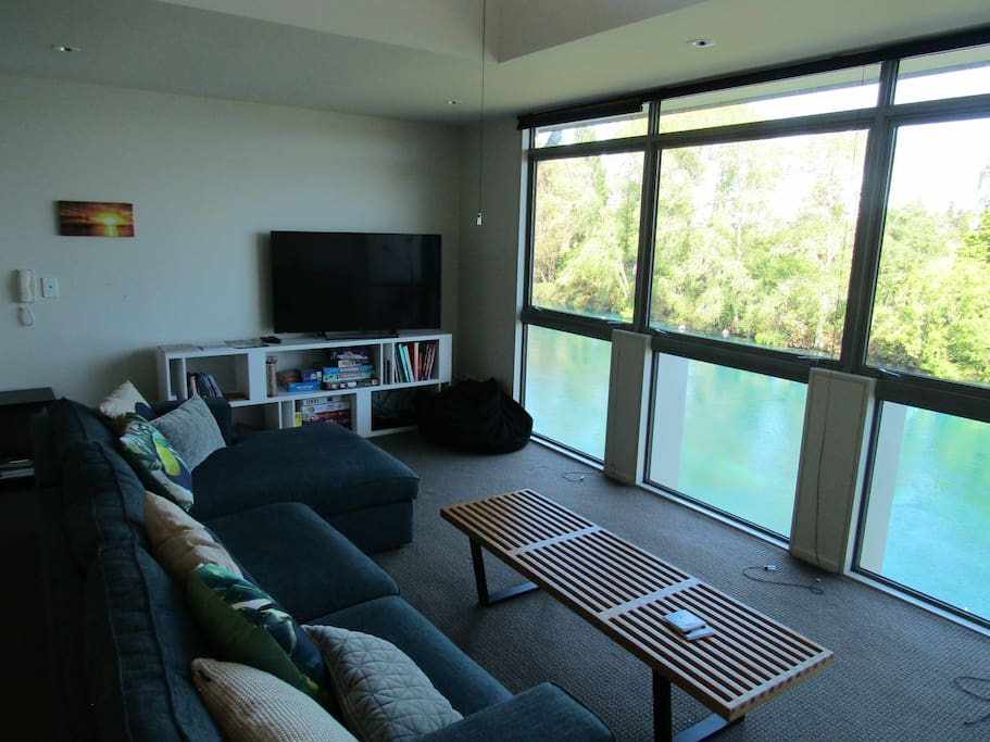 Outlook from the living area