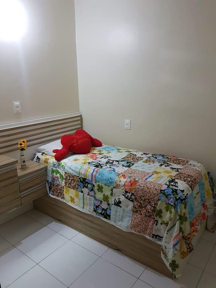 Apto 2 quarto, ambiente familiar Petrópolis