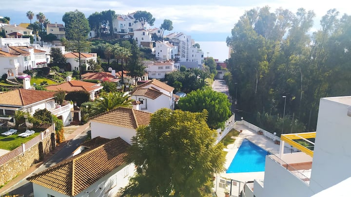 Cozy apartment near beach located in Fuengirola