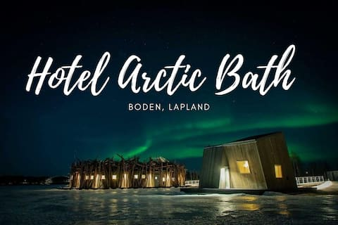 Arctic Bath Free-Floating Cabin & Spa Access ✔