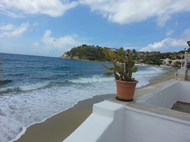 Casa sul mare con giardino