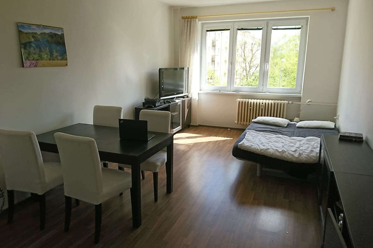 The main room of the aparment