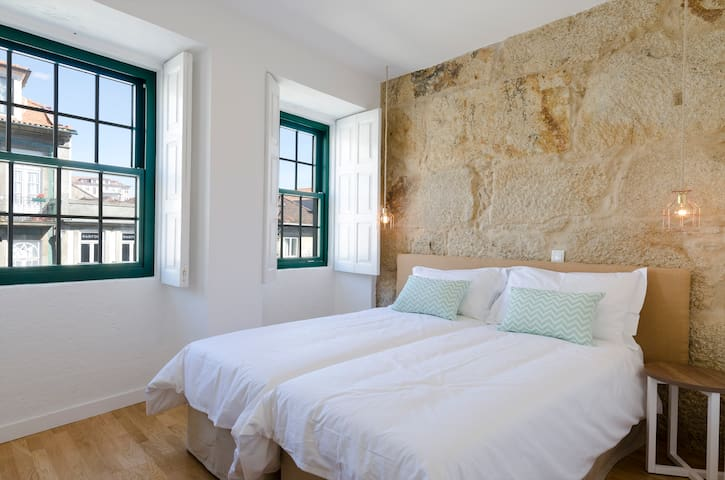 Elegant suite in historic center - Oporto - Casa