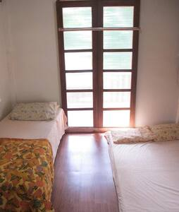 3-person room in nipa hut
