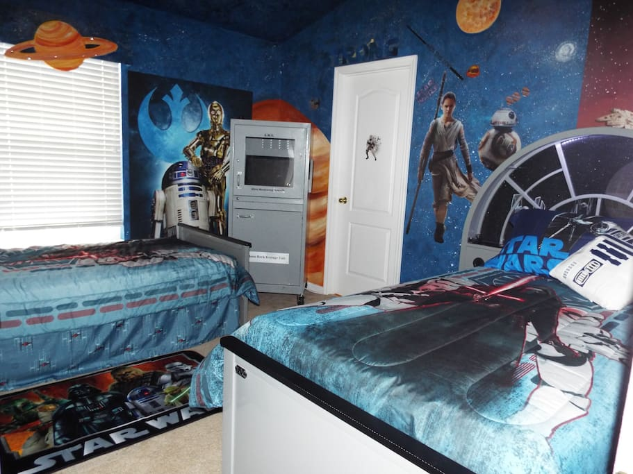 Star Wars Bedroom that kids and adults love