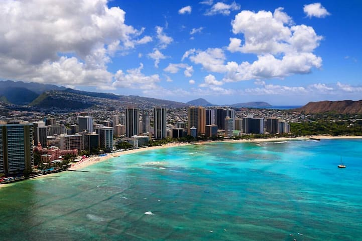 1 Bedroom Condo in Waikiki Beach 2 min walk! - Honolulu - Lägenhet