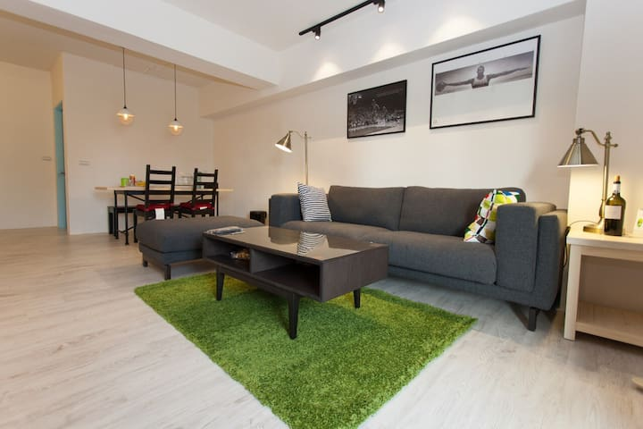 【CU】Rm.T - Cozy.Clean.Convenient - Qianjin District - Apartament