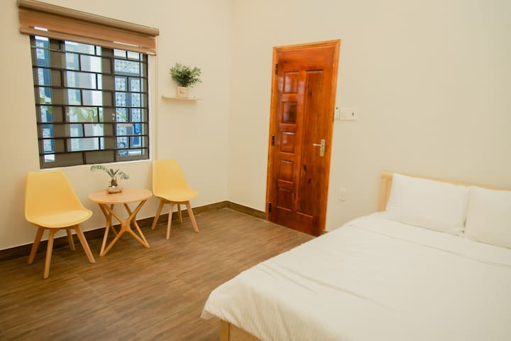 Spacious Double Room★400m from beach