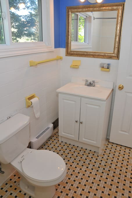 Main floor bathroom