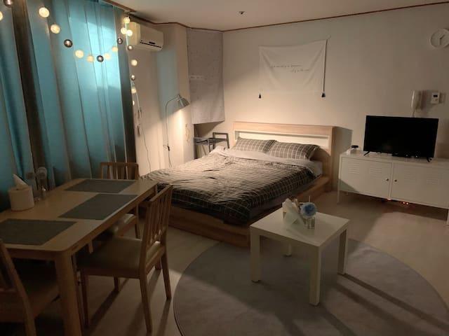 ⭐️NEW⭐️中文OK! Clean&Wide House@YOUNGSAN stn 5min #2