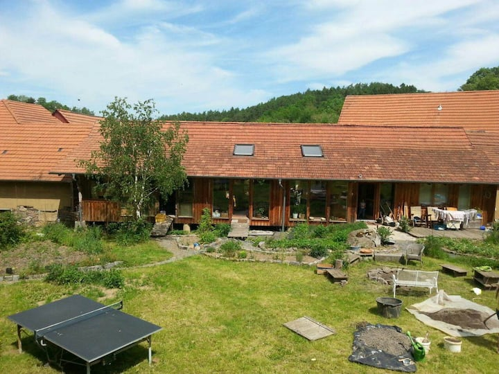 Alternatives Holzhaus