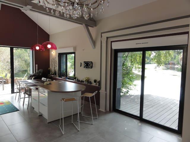 GITE D'EXCEPTION : LA GRANGE A BATEAU - Vierzon - Casa