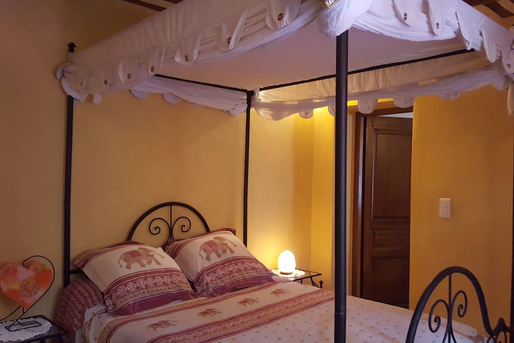 Une chambre raffiné...